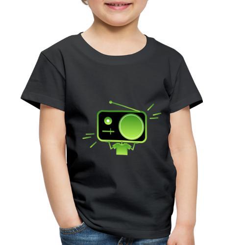 MusiqHead Green Ver 3 - Toddler Premium T-Shirt