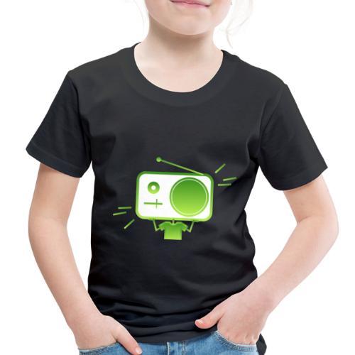 MusiqHead Green Ver 4 - Toddler Premium T-Shirt