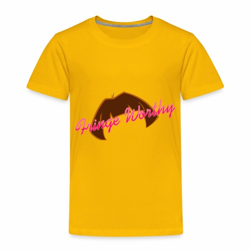 Fringe WorthyCases - Toddler Premium T-Shirt
