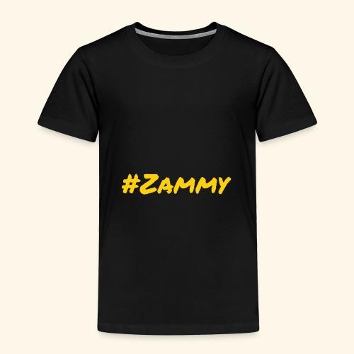 Gold #Zammy - Toddler Premium T-Shirt