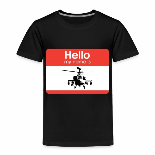 Apache is the name - Toddler Premium T-Shirt