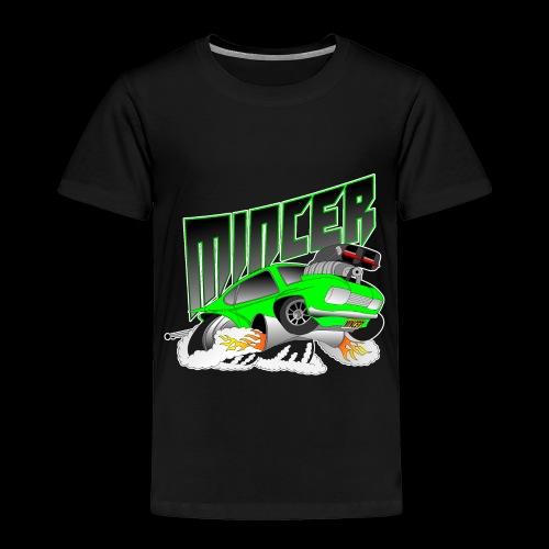 MINCER CAPRI - KILLER 6 SECOND CAPRI DESIGN - Toddler Premium T-Shirt