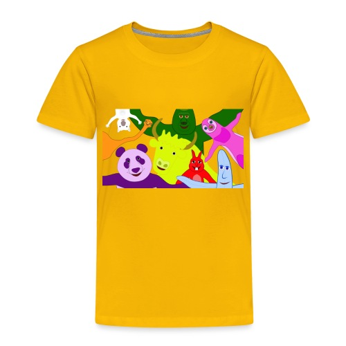 animals tshirt 1 - Toddler Premium T-Shirt