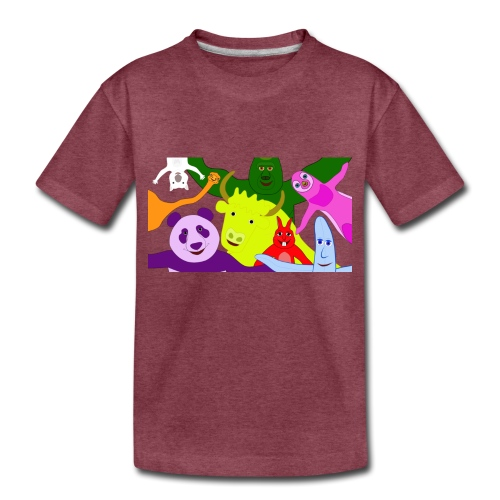 animals tshirt 1 - Toddler Premium T-Shirt
