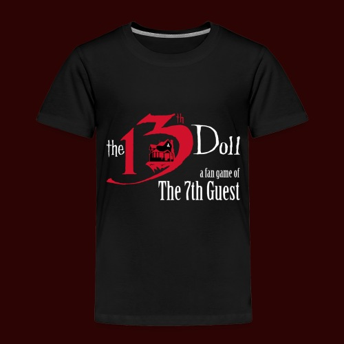 The 13th Doll Logo - Toddler Premium T-Shirt