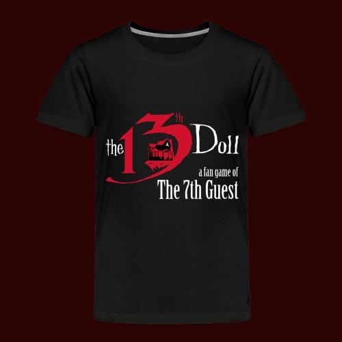 The 13th Doll Logo - Toddler Premium T-Shirt