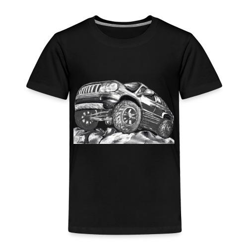 4 wheel SUV - Toddler Premium T-Shirt