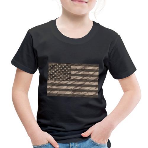 desert cammo flag t - Toddler Premium T-Shirt