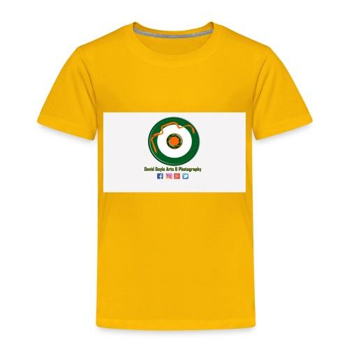 David Doyle Arts & Photography Logo - Toddler Premium T-Shirt