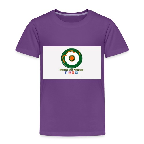 David Doyle Arts & Photography Logo - Toddler Premium T-Shirt