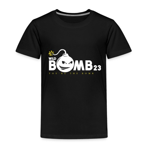 WildBomb23 White - Toddler Premium T-Shirt