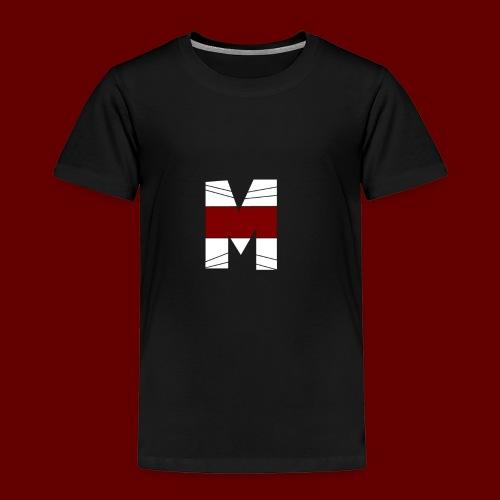 WHITE AND RED M Season 2 - Toddler Premium T-Shirt