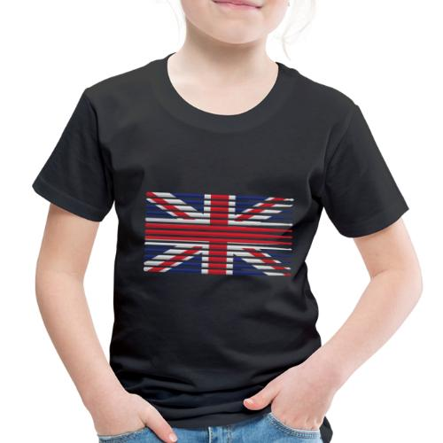 United Kingdom drummer drum stick flag - Toddler Premium T-Shirt