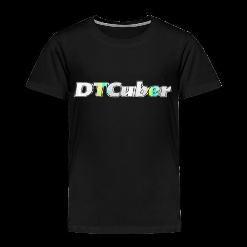DTCuber Logo - Toddler Premium T-Shirt