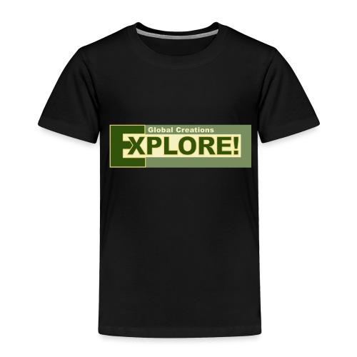 Explore Logo - Toddler Premium T-Shirt