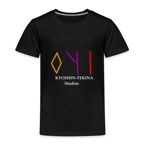 Kyoshin-Tekina Studios logo (white text) - Toddler Premium T-Shirt