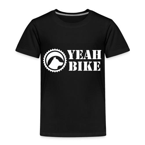 Yeah Bike white - Toddler Premium T-Shirt