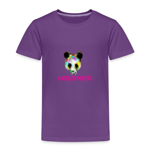 Axelofabyss panda panda paint - Toddler Premium T-Shirt