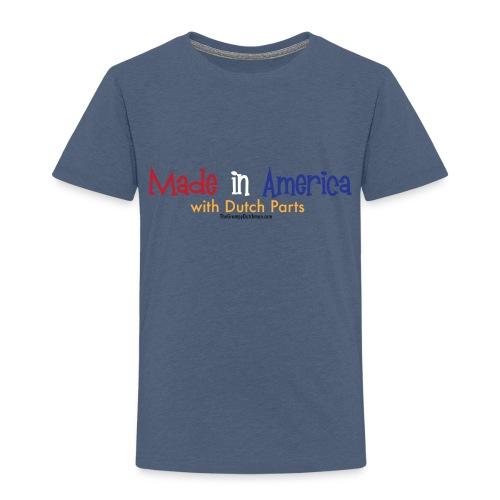 Dutch Parts colored lettering - Toddler Premium T-Shirt
