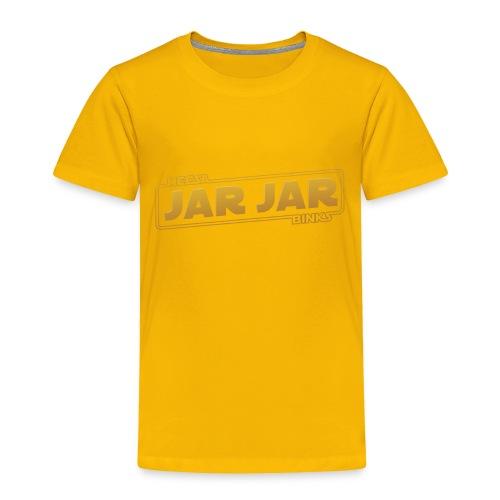 jarjar trim - Toddler Premium T-Shirt