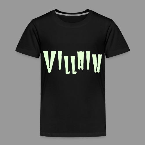 Villain - Toddler Premium T-Shirt