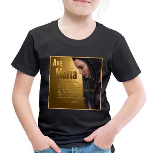 Hail Mary - Ave Maria - The prayer in English - Toddler Premium T-Shirt