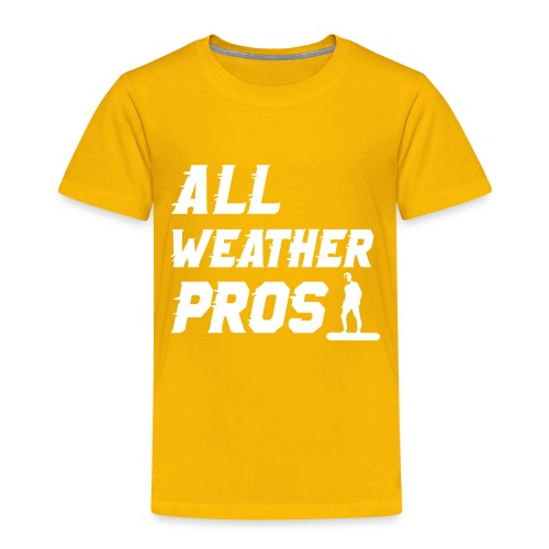 Messenger 841 All Weather Pros Logo T-shirt - Toddler Premium T-Shirt