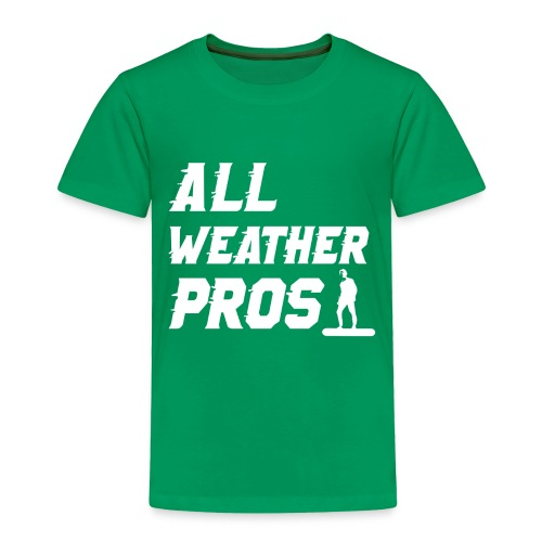Messenger 841 All Weather Pros Logo T-shirt - Toddler Premium T-Shirt