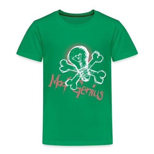 Mad Genius - On Dark - Toddler Premium T-Shirt