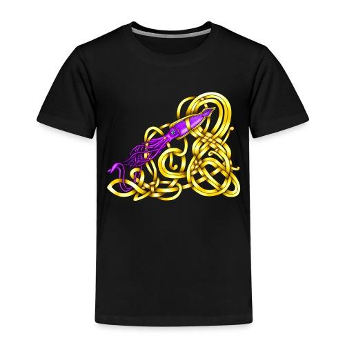 Celtic Squid - Toddler Premium T-Shirt