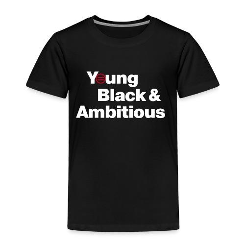 YBA Black Shirt2 - Toddler Premium T-Shirt