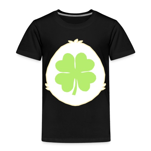 Lucky Bear Belly - Toddler Premium T-Shirt