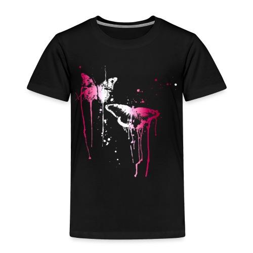 Dripping Butterflies - Toddler Premium T-Shirt