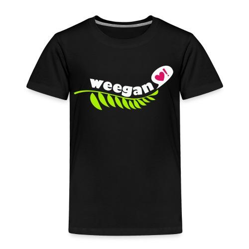 White Weegan - Toddler Premium T-Shirt