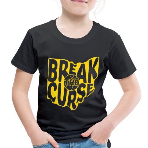 Break The Cleveland Curse - Toddler Premium T-Shirt