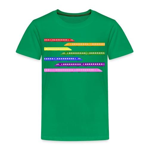 trains t shirt 2 - Toddler Premium T-Shirt