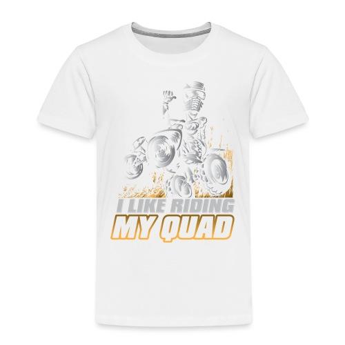 ATV Quad Like Stunt Rider - Toddler Premium T-Shirt