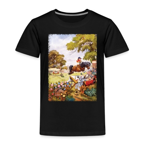 PonyTournament Thelwell Cartoon - Toddler Premium T-Shirt