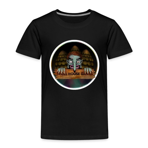 Troll House Games Logo - Toddler Premium T-Shirt