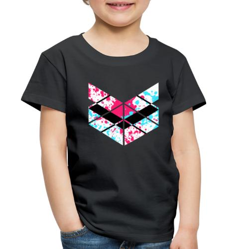 SaMPL and HoLD Paint Splatter Logo - Toddler Premium T-Shirt