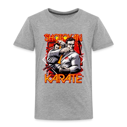 Shotokan Karate - Toddler Premium T-Shirt