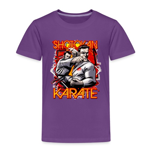 Shotokan Karate - Toddler Premium T-Shirt