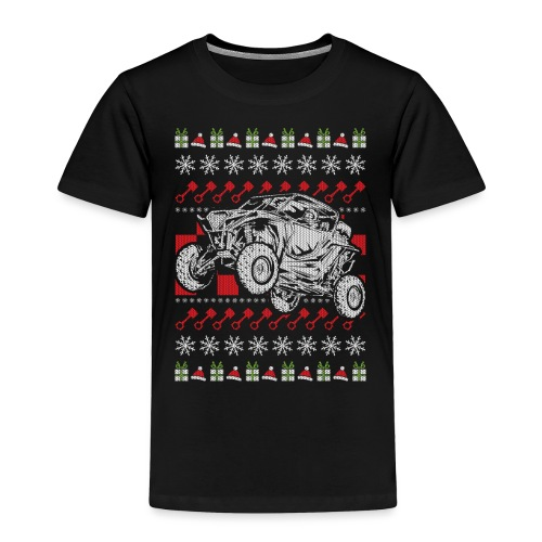 UTV Racing Christmas - Toddler Premium T-Shirt