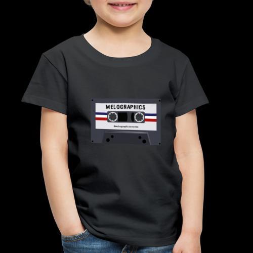 Retro Cassette #melographicsrocks - Toddler Premium T-Shirt