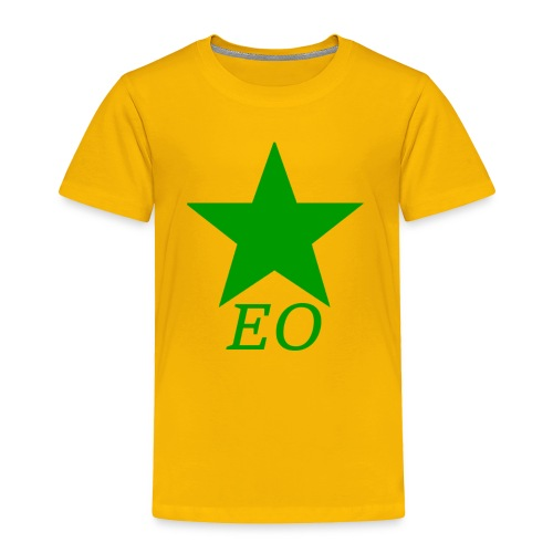 EO and Green Star - Toddler Premium T-Shirt