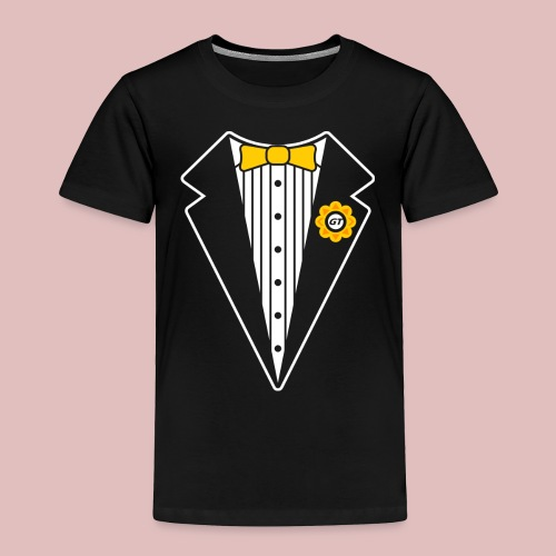 Keep It Classy Tux Shirt - Toddler Premium T-Shirt