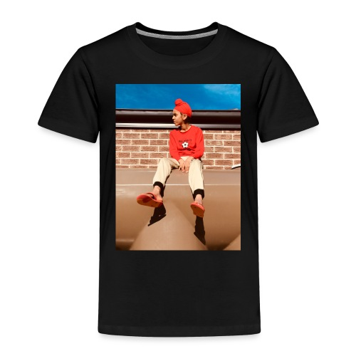 Flamin_Danger - Toddler Premium T-Shirt