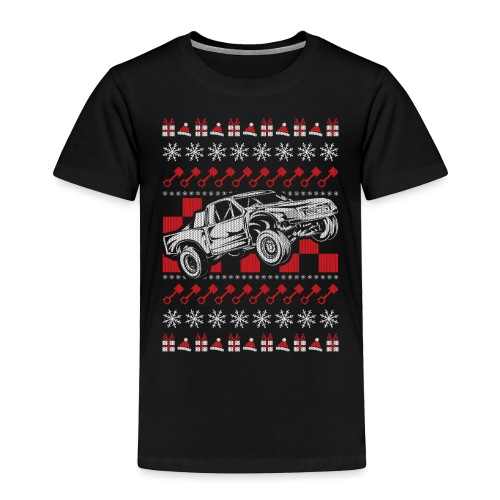 Pro Race Truck Christmas - Toddler Premium T-Shirt