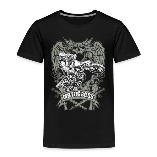 Dirt Bike Extreme Tattoo - Toddler Premium T-Shirt