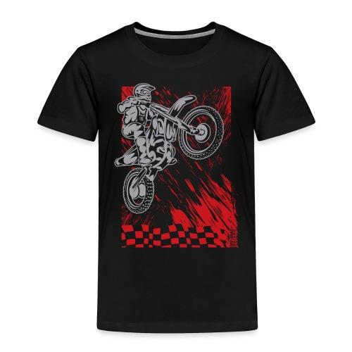 Motorsports Race Flag Deco - Toddler Premium T-Shirt